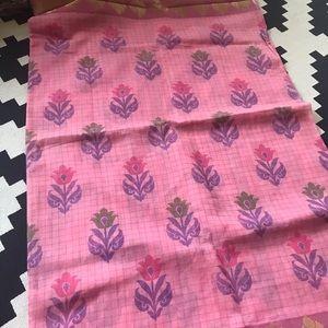 Dresses & Skirts - Beautiful pink cotton Indian Saree